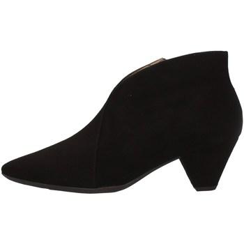 Chaussures Femme Low boots Wonders I-7604 NOIR