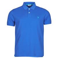 Vêtements Homme Polos manches courtes U.S Polo Assn. INSTITUTIONAL POLO Bleu