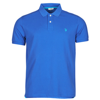 Vêtements Homme Polos manches courtes U.S Polo Assn. INSTITUTIONAL POLO Bleu
