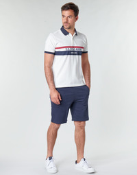 Vêtements Homme Shorts / Bermudas U.S Polo Assn. TRICOLOR SHORT FLEECE Marine