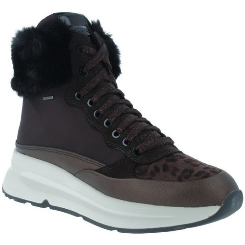 Chaussures Femme Bottines Geox Backsie D94FPA Botines ABX Casual de Mujer Marron