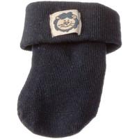Accessoires textile Chaussettes Intersocks Chaussettes Bottons - Coton - New Born Bleu marine
