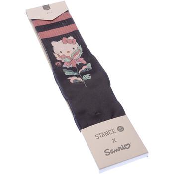 Accessoires Femme Chaussettes Stance Chaussettes Niveau mollet - Sanrio Noir