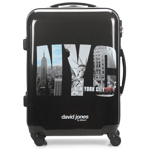 Sacs Valises Rigides David Jones STEBI 53L Noir