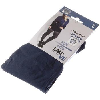Sous-vêtements Femme Collants & bas Lauve Collant chaud - Opaque - Intense opaque Bleu marine