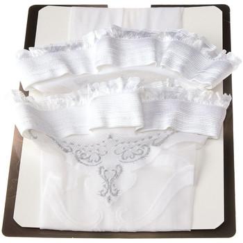 Sous-vêtements Femme Collants & bas Studio Collants Bas Autofixants Wedding day Blanc