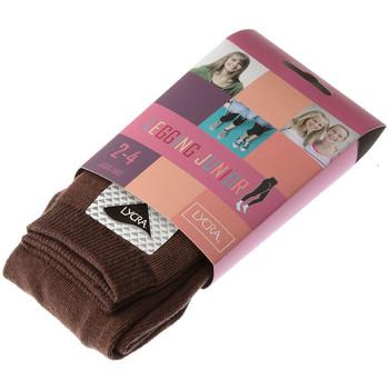 Vêtements Fille Leggings Intersocks Legging chaud long - Coton - Ultra opaque Marron