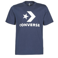 Vêtements Homme T-shirts manches courtes Converse STAR CHEVRON TEE Bleu
