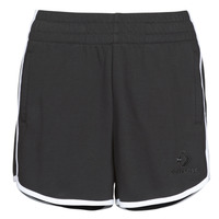 Vêtements Femme Shorts / Bermudas Converse TWISTED VARSITY SHORT Noir