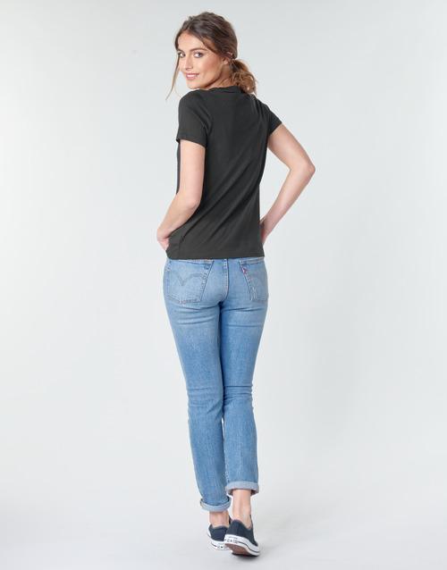 STAR CHEVRON TEE  Converse  t-shirts manches courtes  femme  noir