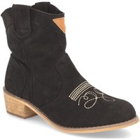 Chaussures Femme Bottines Benini AB62 Negro
