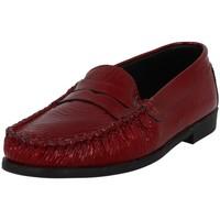 Chaussures Femme Mocassins Metayer J REQUIT Rouge