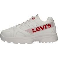 Chaussures Garçon Baskets basses Levi's - Soho bianco VSOH0010S-0061 BIANCO