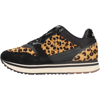 Chaussures Femme Baskets basses Lotto - Slice animalier nero 212426-1CL NERO