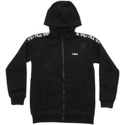Vêtements Garçon Sweats Fila - Felpa zip nero 687264-002 NERO