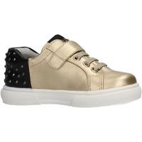 Chaussures Garçon Baskets basses Liu Jo - Sneaker oro SARAH 28 ORO