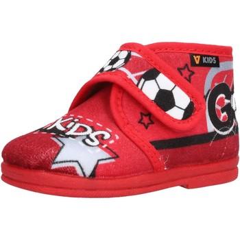 Chaussures Garçon Chaussons bébés Valleverde - Pantofola rosso 60802 ROSSO