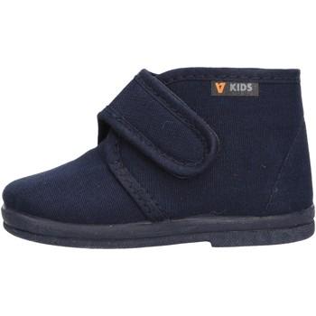 Chaussures Garçon Chaussons bébés Valleverde - Pantofola blu 60801 BLU
