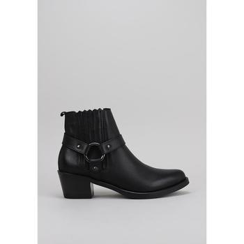 Chaussures Femme Low boots Lol 6001 Noir