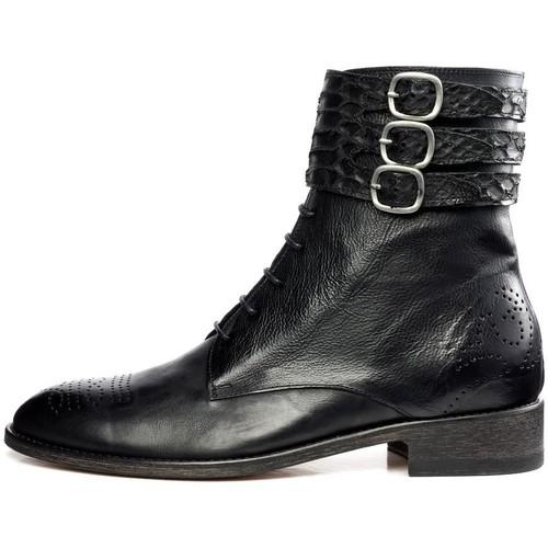 Chaussures Femme Boots Feron CHEYENNE Noir