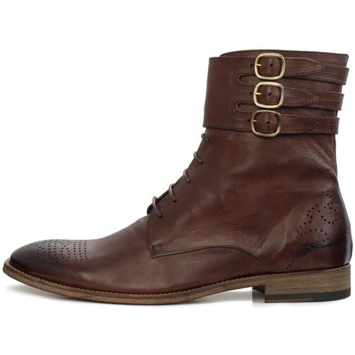 Chaussures Homme Boots Feron CHEYENNE Marron