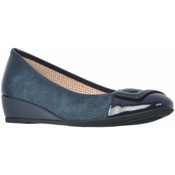 Chaussures Femme Ballerines / babies Stonefly MAGGIE 25 PAT Bleu