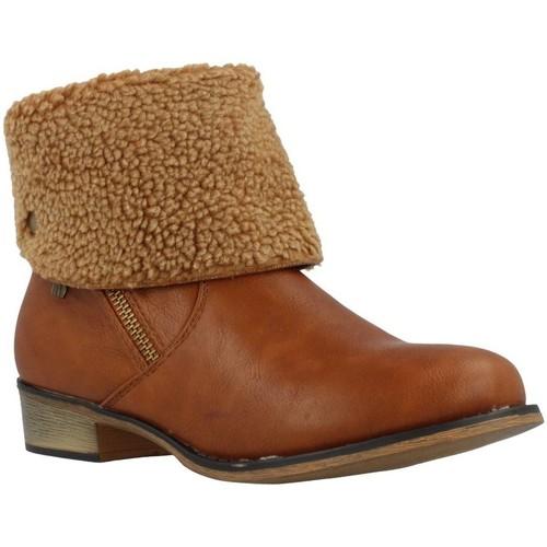Chaussures Femme Bottines MTNG 55696 Marron