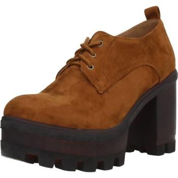 Chaussures Femme Derbies & Richelieu Different 8135 Marron
