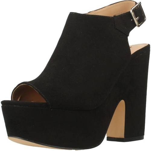 Chaussures Femme Sandales et Nu-pieds Be Different Be Yellow SWALLOW Noir