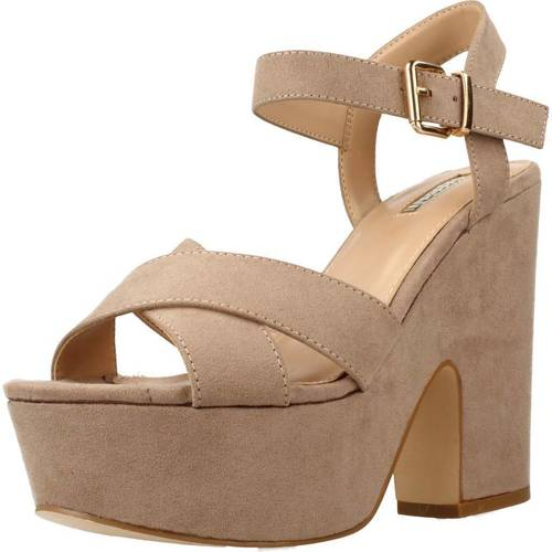 Chaussures Femme Sandales et Nu-pieds Be Different Be Yellow OWL Marron