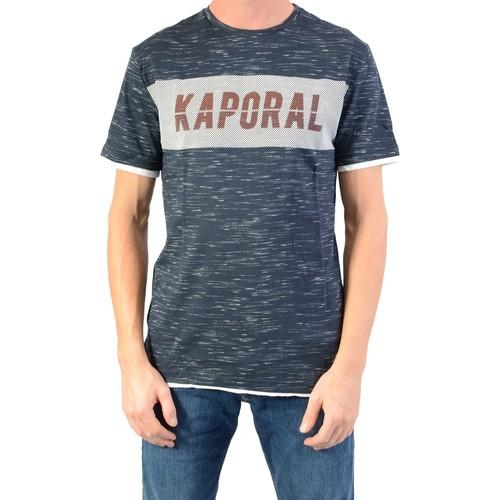 Vêtements Garçon T-shirts manches courtes Kaporal Junior Brigt Navy