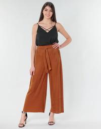 Vêtements Femme Pantalons fluides / Sarouels Moony Mood MERONAR Rouille