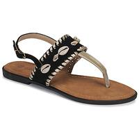 Chaussures Femme Sandales et Nu-pieds Moony Mood MARISE noir