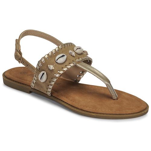 Chaussures Femme Sandales et Nu-pieds Moony Mood MARISE beige