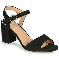 Chaussures Femme Sandales et Nu-pieds Moony Mood MEGANE noir