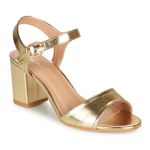 Chaussures Femme Sandales et Nu-pieds Moony Mood MEGANE doré