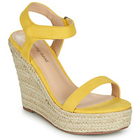 Chaussures Femme Sandales et Nu-pieds Moony Mood MARTA jaune