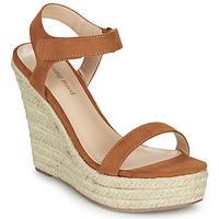 Chaussures Femme Sandales et Nu-pieds Moony Mood MARLEINE Camel