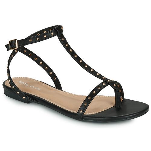 Chaussures Femme Sandales et Nu-pieds Moony Mood MARIELLE Noir