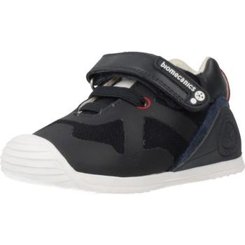 Chaussures Garçon Baskets basses Biomecanics 191168 Bleu