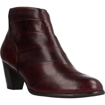 Chaussures Femme Bottines Regarde Le Ciel SONIA38008 Rouge