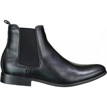 Chaussures Homme Boots Uomo Bottine habillées Noir
