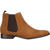 Chaussures Homme Boots Uomo Bottine habillées Marron