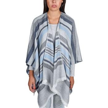 Vêtements Femme Pulls Qualicoq Poncho Visala - Couleur - Gris - Fabriqué en France Gris