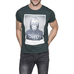 Vêtements Homme T-shirts manches courtes Deeluxe T-Shirt JUST Forest