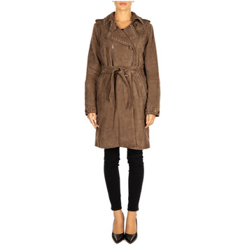 Vêtements Femme Manteaux Bully TRENCH taupe
