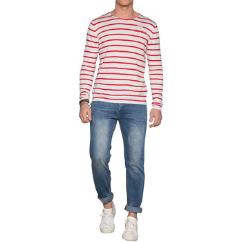 Vêtements Homme Pulls Deeluxe Pull MADOX Red