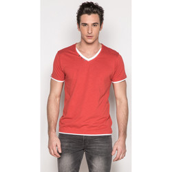 Vêtements Homme T-shirts manches courtes Deeluxe T-Shirt LEGEND Tomato