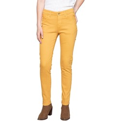 Vêtements Femme Pantalons Deeluxe Pantalon PIME Curry