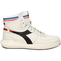 Chaussures Homme Baskets montantes Diadora MI BASKET H LEATHER MDS 20006-bianco